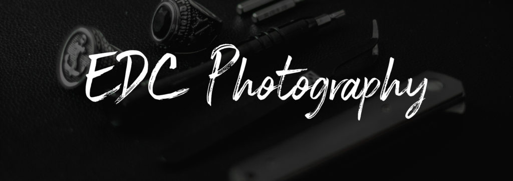 Everyday Carry Photography Header Image