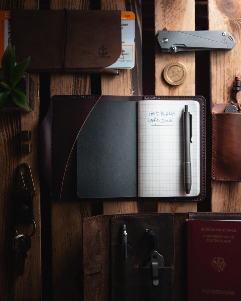 Everyday Carry_Flatlay Photograph Example_Rustic