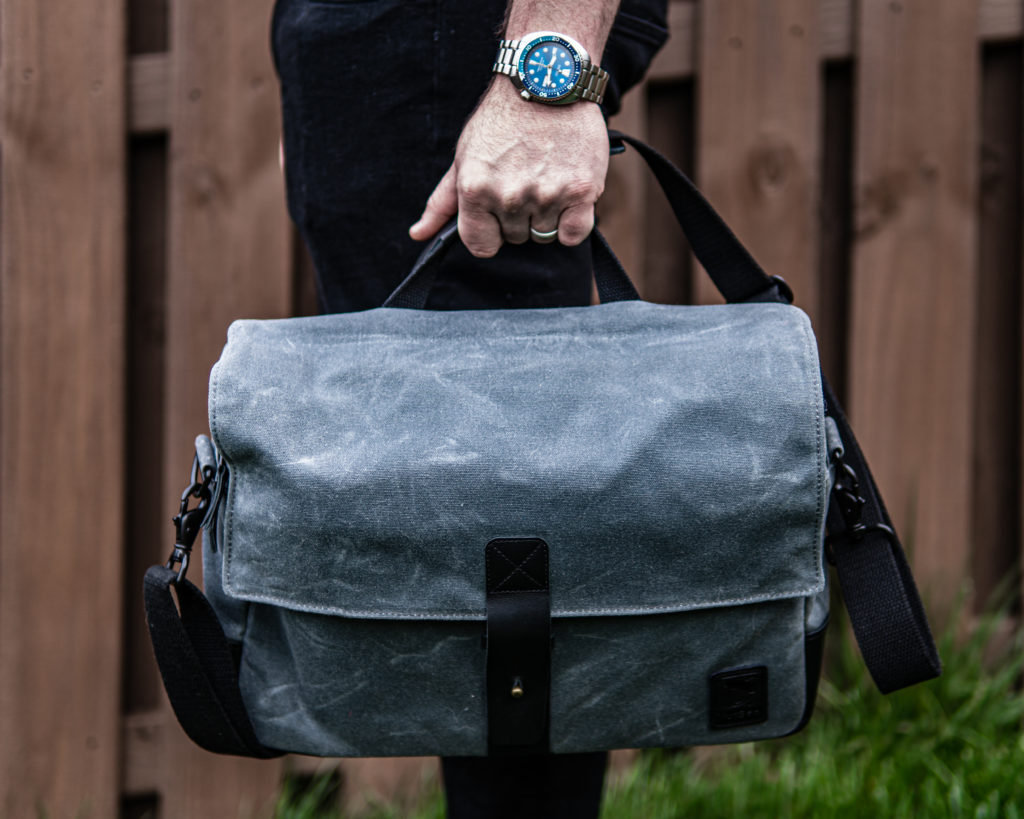 Nutsac Satchel 15 Handle Carry