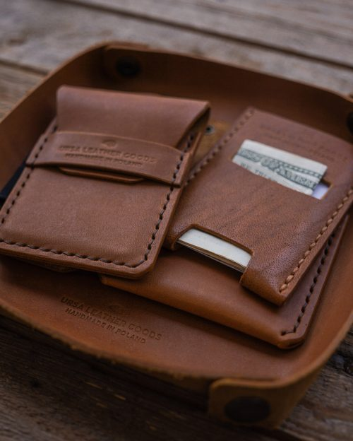 Ursa Goods Leather Valet Tray