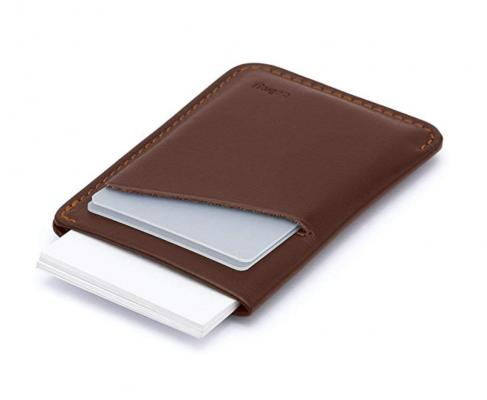 Bellroy Card Sleeve Minimalist Slim Wallet in Brown