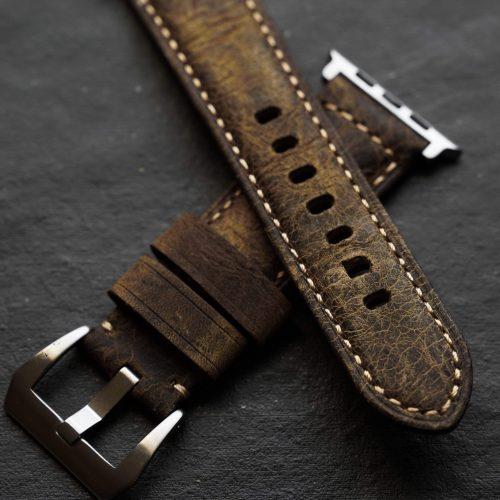Bullstrap Apple Watch Leather Straps