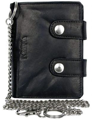 Kabana Bikers Wallet with Long Chain