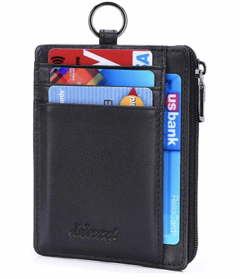 Kinzd Slim Wallet for Chains and Badges