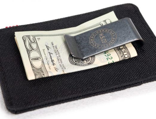 Herschel Raven Wallet with Money Clip