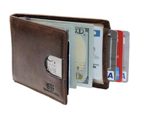 Serman Brands Front Pocket Slim Wallet