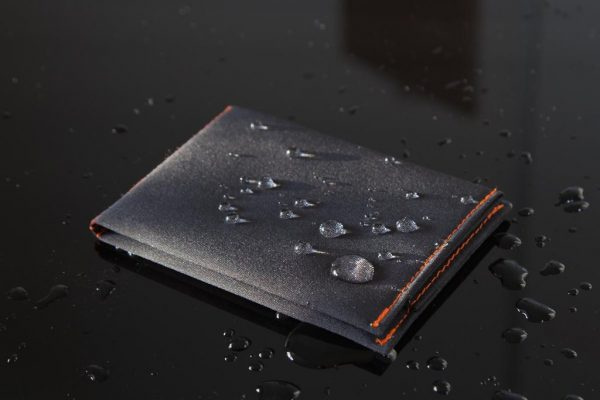SlimFold Micro Soft Shell, Grey, Slim Wallet